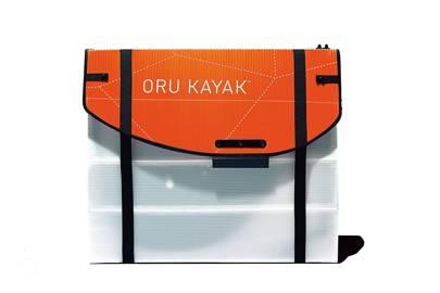 Oru Origami Kayak (folded)