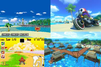 Cheep Cheep Beach (DS/GBA)