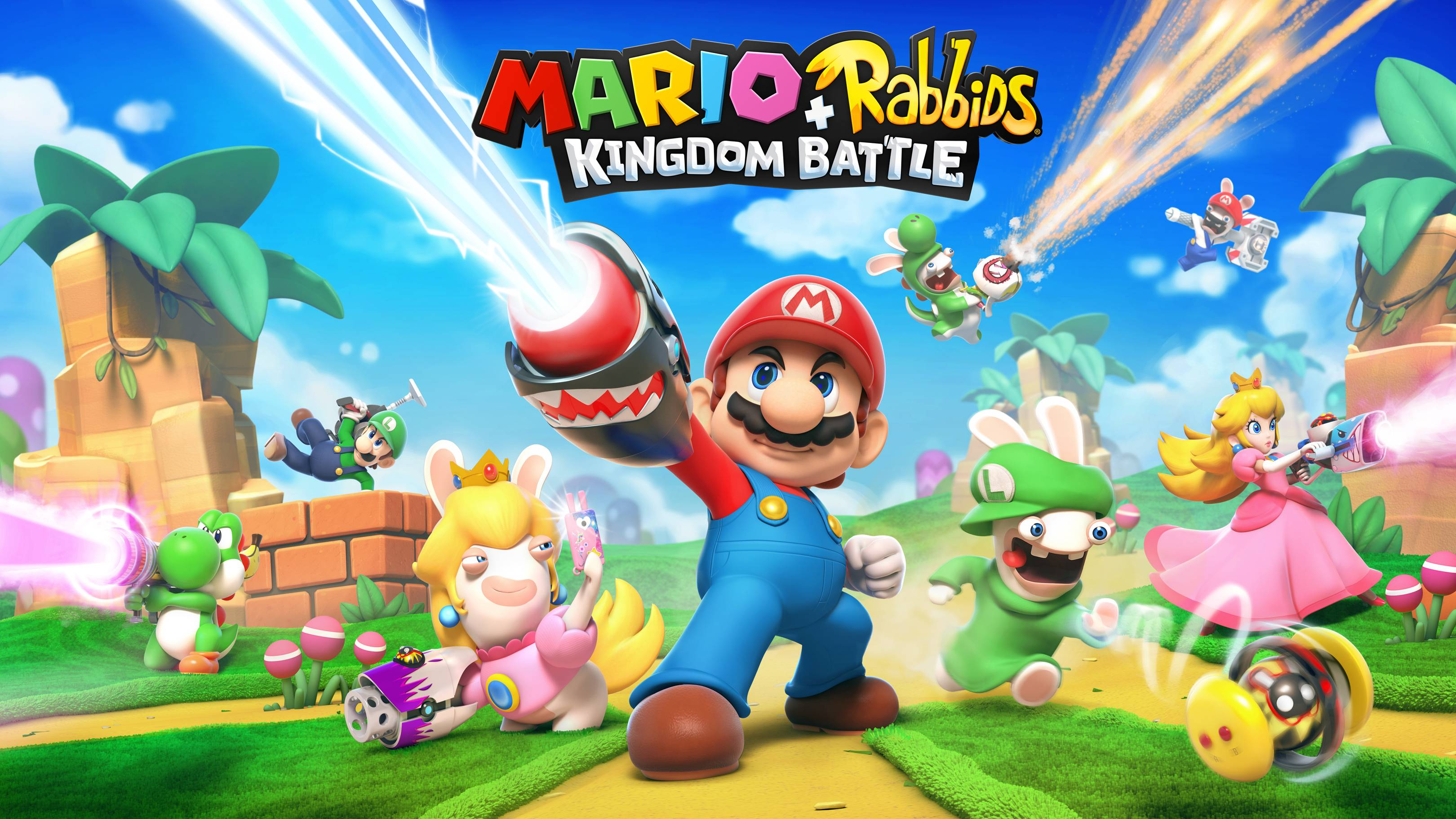 Mario Rabbids Kingdom Battle Nintendo Switch Review Wired Uk
