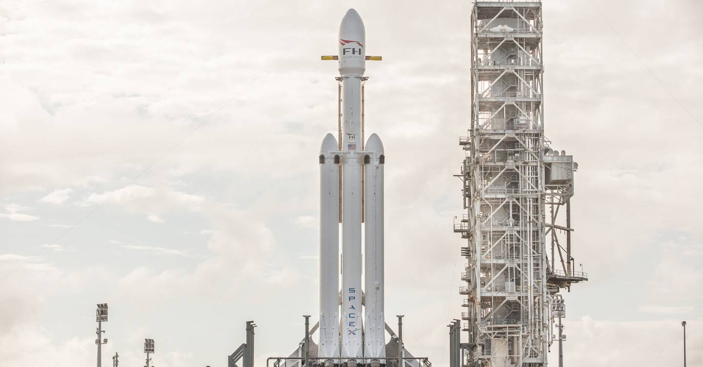 Tuesday briefing: SpaceX Falcon Heavy scheduled for first launch today