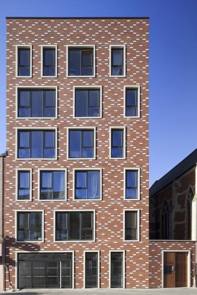 St Mary of Eton Church Apartments and Community Rooms by Matthew Lloyd Architects