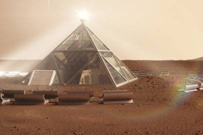 THE MARTIAN PYRAMID
