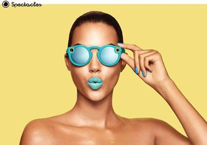 Snapchat firm launches Spectacles camera glasses in Europe
