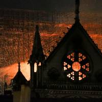Notre Dame fire 16 April 2019