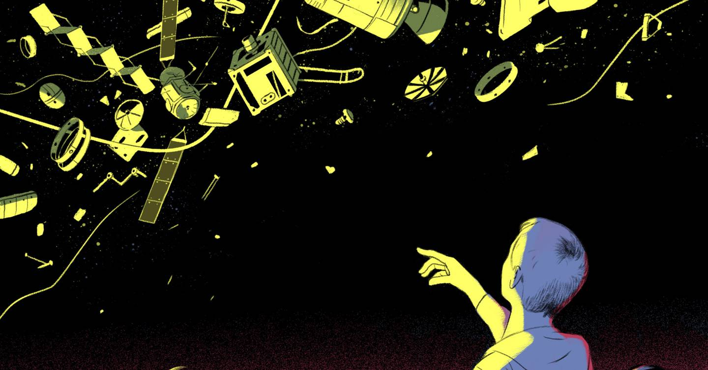 Here's how we can put all of humanity's space debris to good use