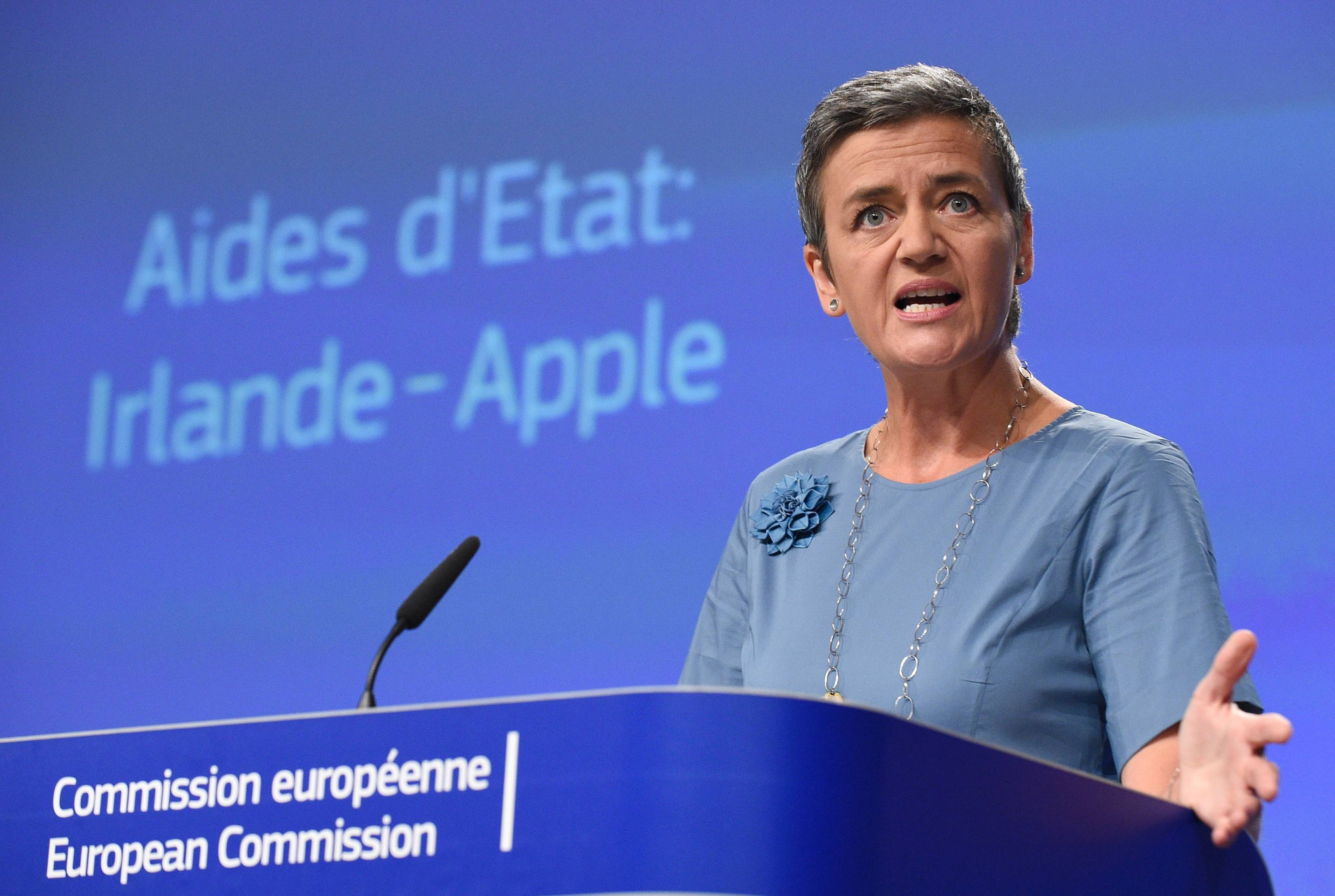 Margrethe Vestager fined Google and Apple billions, now she may lead
