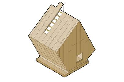 Prefab playhouse