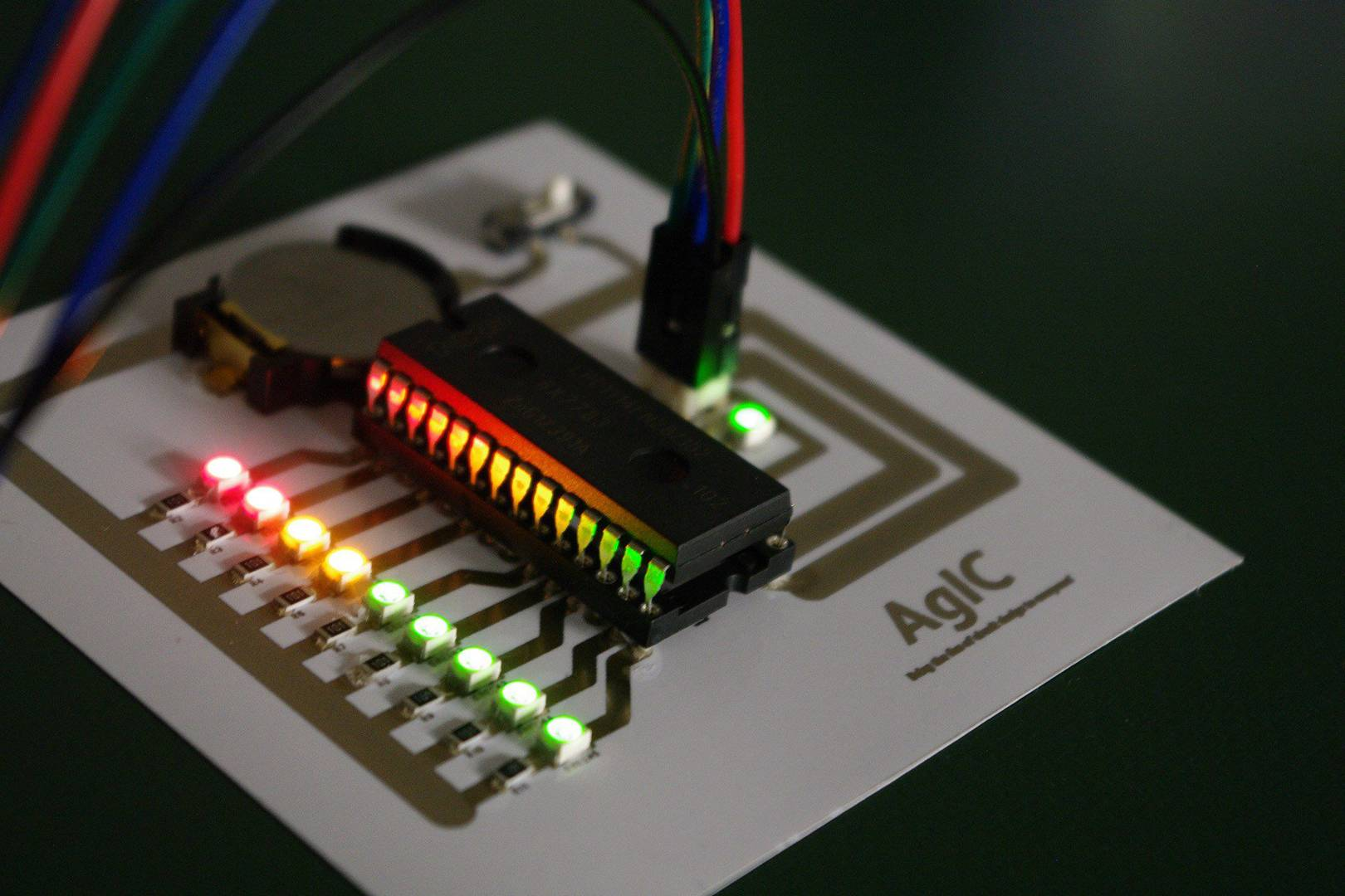 This Ink Turns Your Home Printer Into A Circuit Board Factory Wired Uk Electronic Enclosure Custom Electric Housing Red