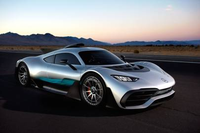 The Mercedes Amg Project One Is A 350kph Beast Of A Hypercar Wired Uk