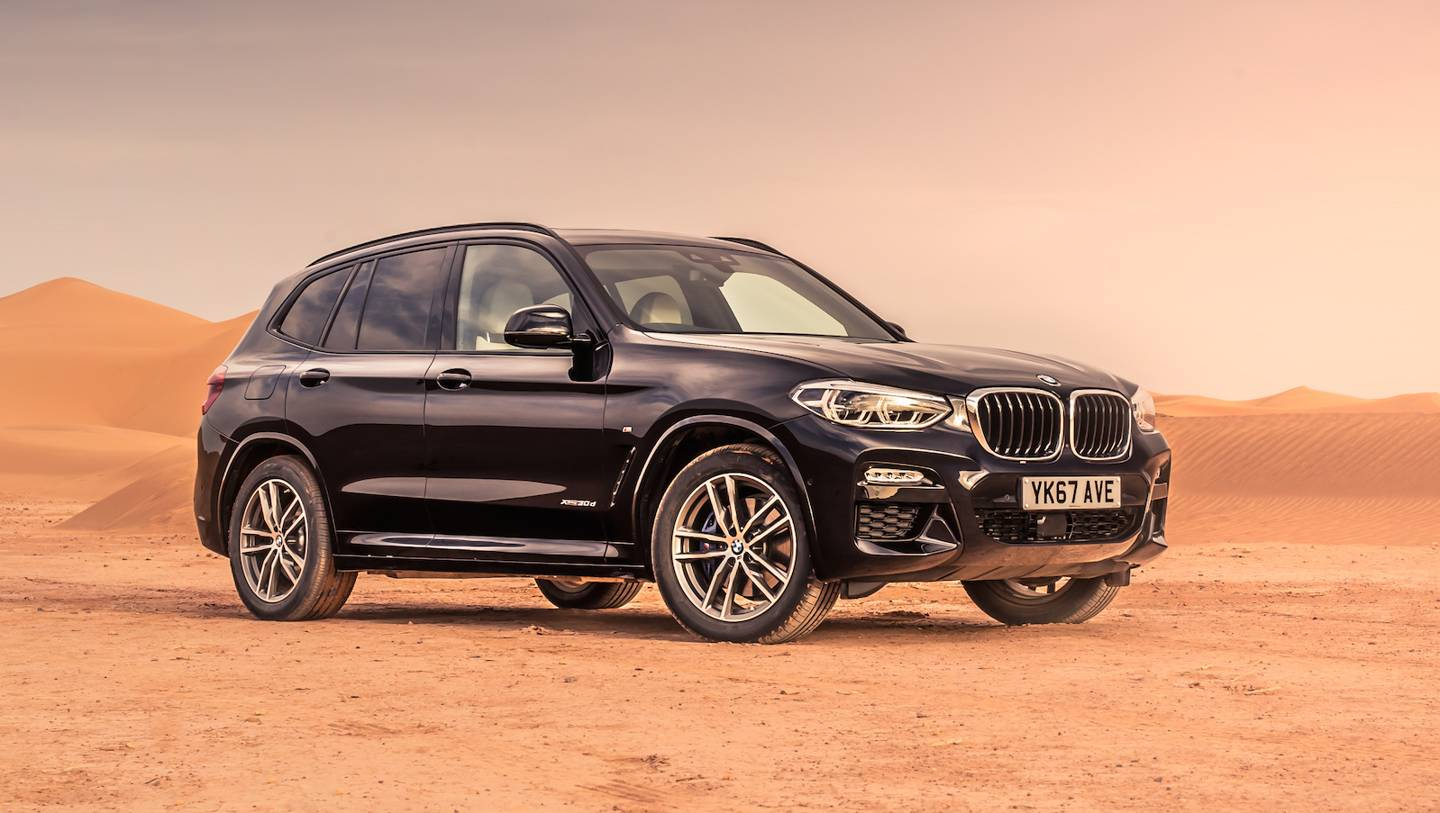 BMW 2018 X3 review: an SUV with a touch of class | WIRED UK