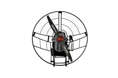 Silent paramotor flight