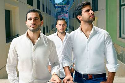 Uniplaces founders (left-right) Mariano Kostelec, Ben Grech and Miguel Amaro