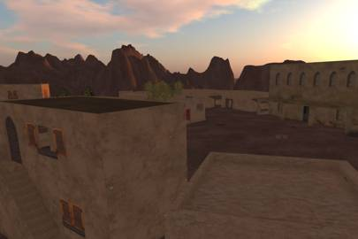 Simulation of an Afghan village