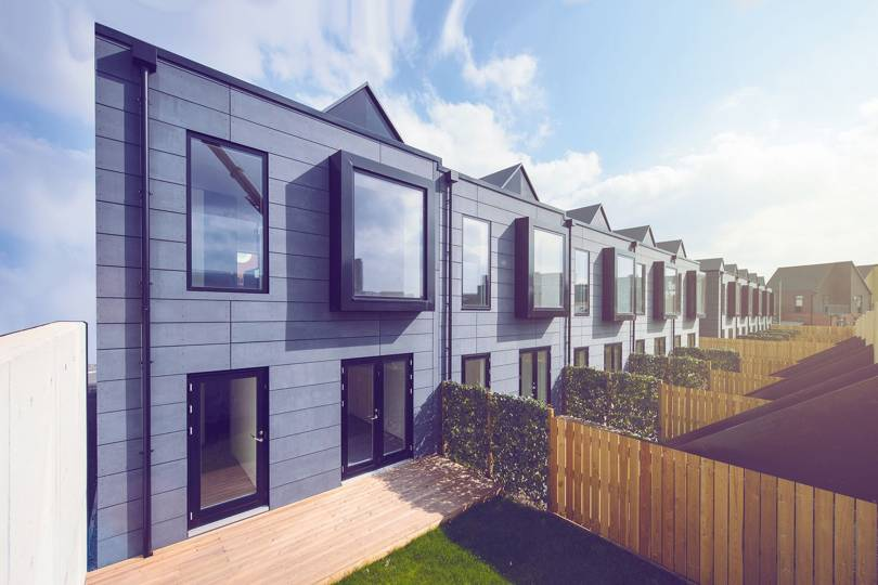 London And Liverpool Based Architects Shedkm Built A Row