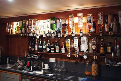 Wolfson College bar