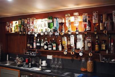 Wolfson College bar