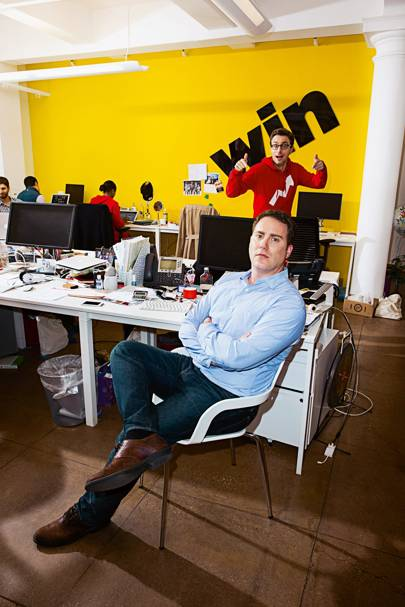 Editor in chief Ben Smith (and Peretti)