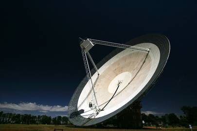 Parkes Observatory radio telescope in Australia will be used for the search