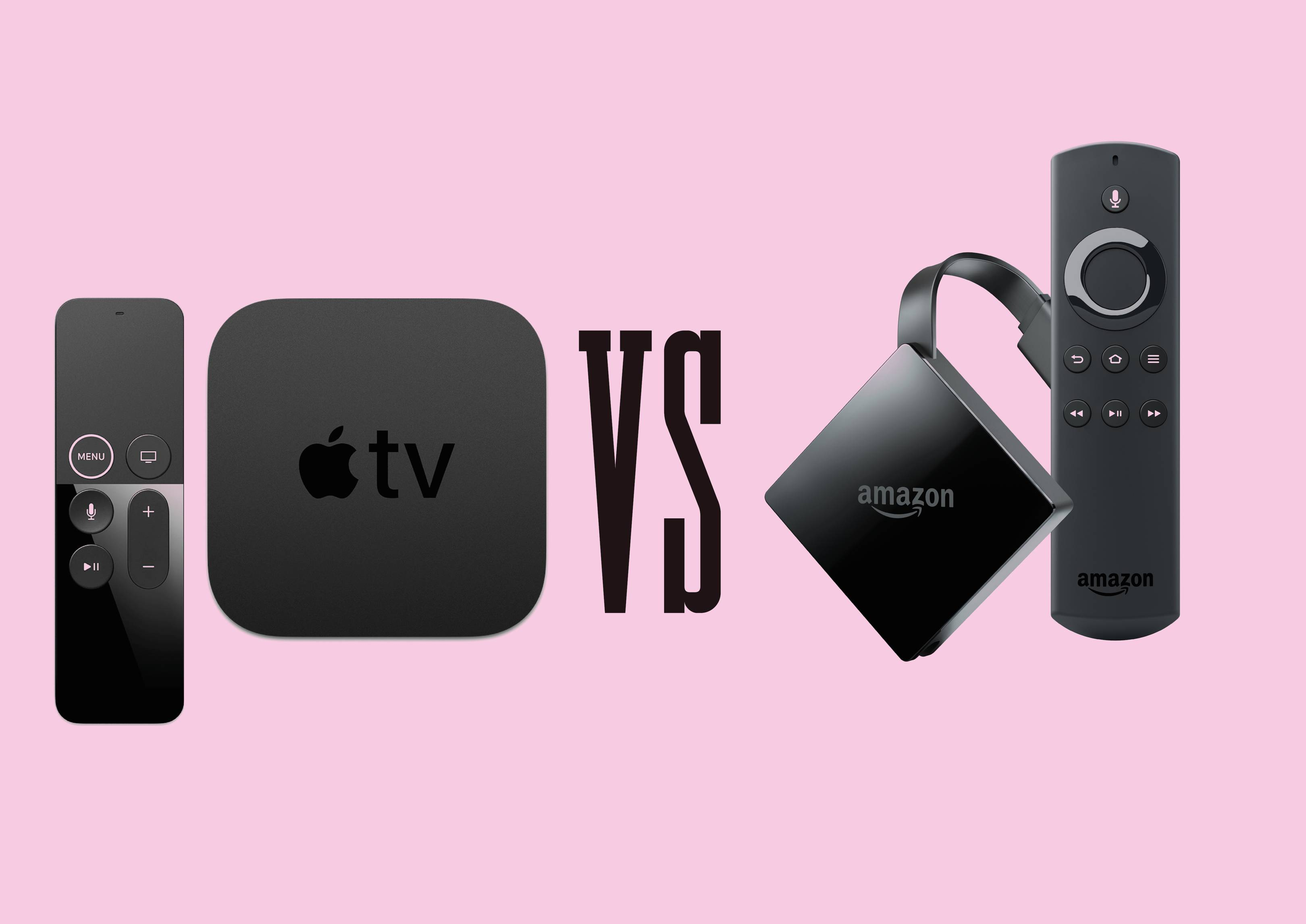 Apple TV 4K vs Amazon Fire TV: 4K streaming boxes reviewed