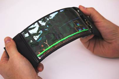 This is the world's first actually-useful bendable phone