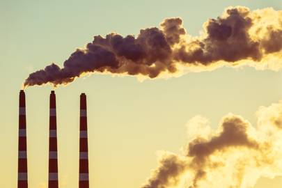 climate change air pollution smoke stacks