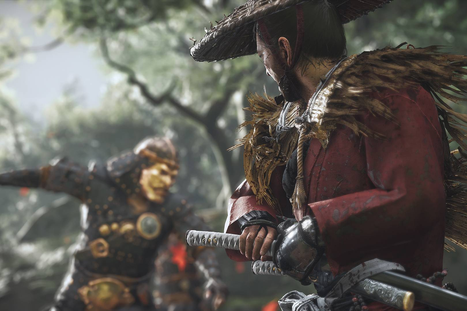 E3 2018 hands-on: Ghost of Tsushima on PS4 is the most beautiful