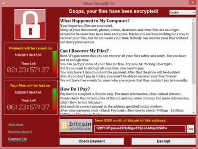 Image result for wannacry ransomware