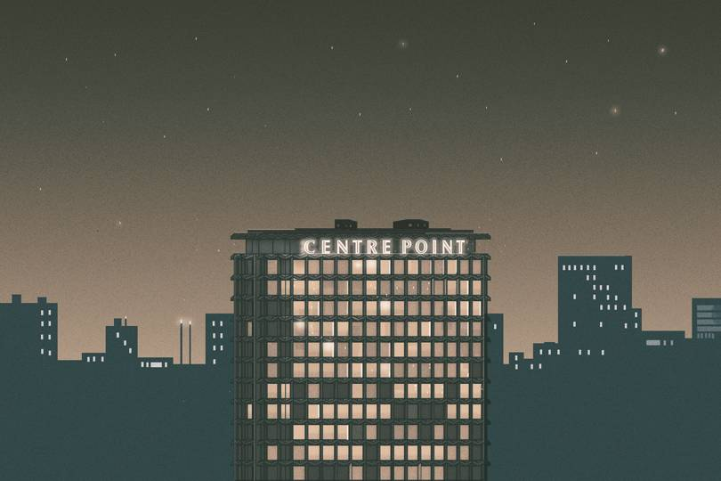 Image of article 'How designers rebuilt Centre Point's famous letters'