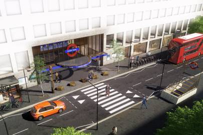 Tfls idiom park is a blueprint for londons station of the future tfl reveals blueprint for londons station of the future malvernweather Images