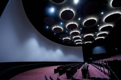 The Orbi Earth Theatre