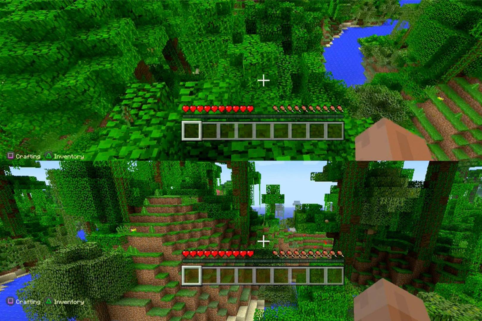 Minecraft lands on PS4 and Xbox One - Review | WIRED UK