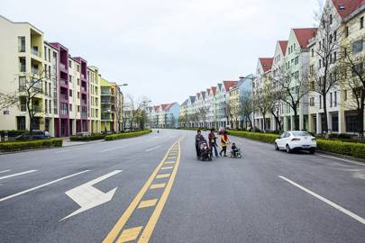 Anting New Town, built 2005, Jiading District, Shanghai