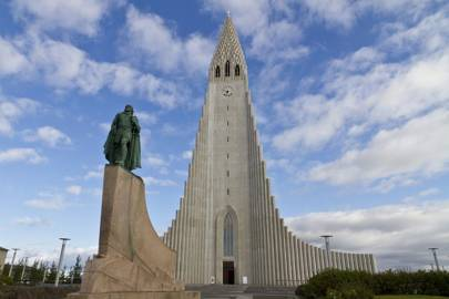 Hallgrímskirkja, the largest church in Iceland