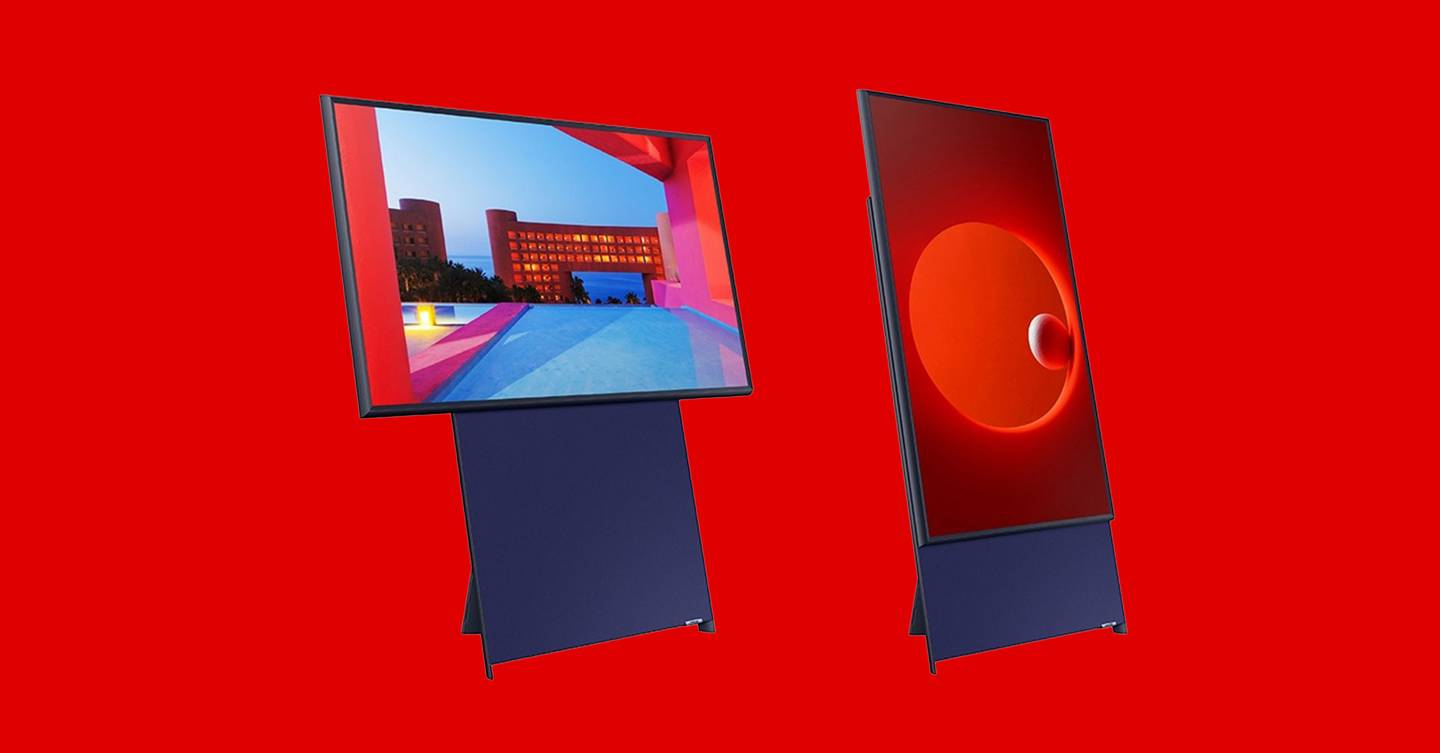 Samsung Sero review: a rotating TV no one asked for