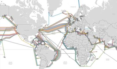 All of the global undersea cables