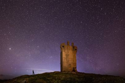 Stargazing at Malin Head