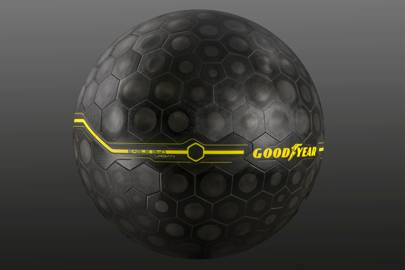 Goodyear's spherical tyre uses 'bionic skin' and AI to adapt to the road