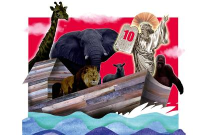 How many animals of each kind did Moses take on the Ark?