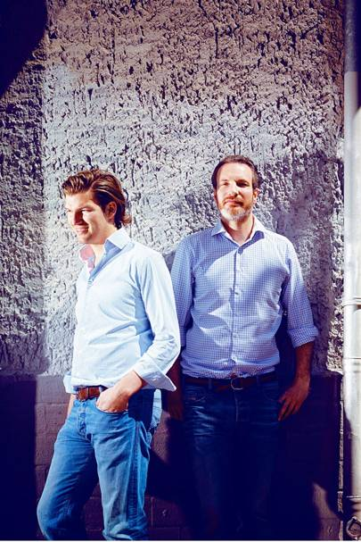 Valentin Stalf and Maximilian Tayenthal of e-bank NUMBER26