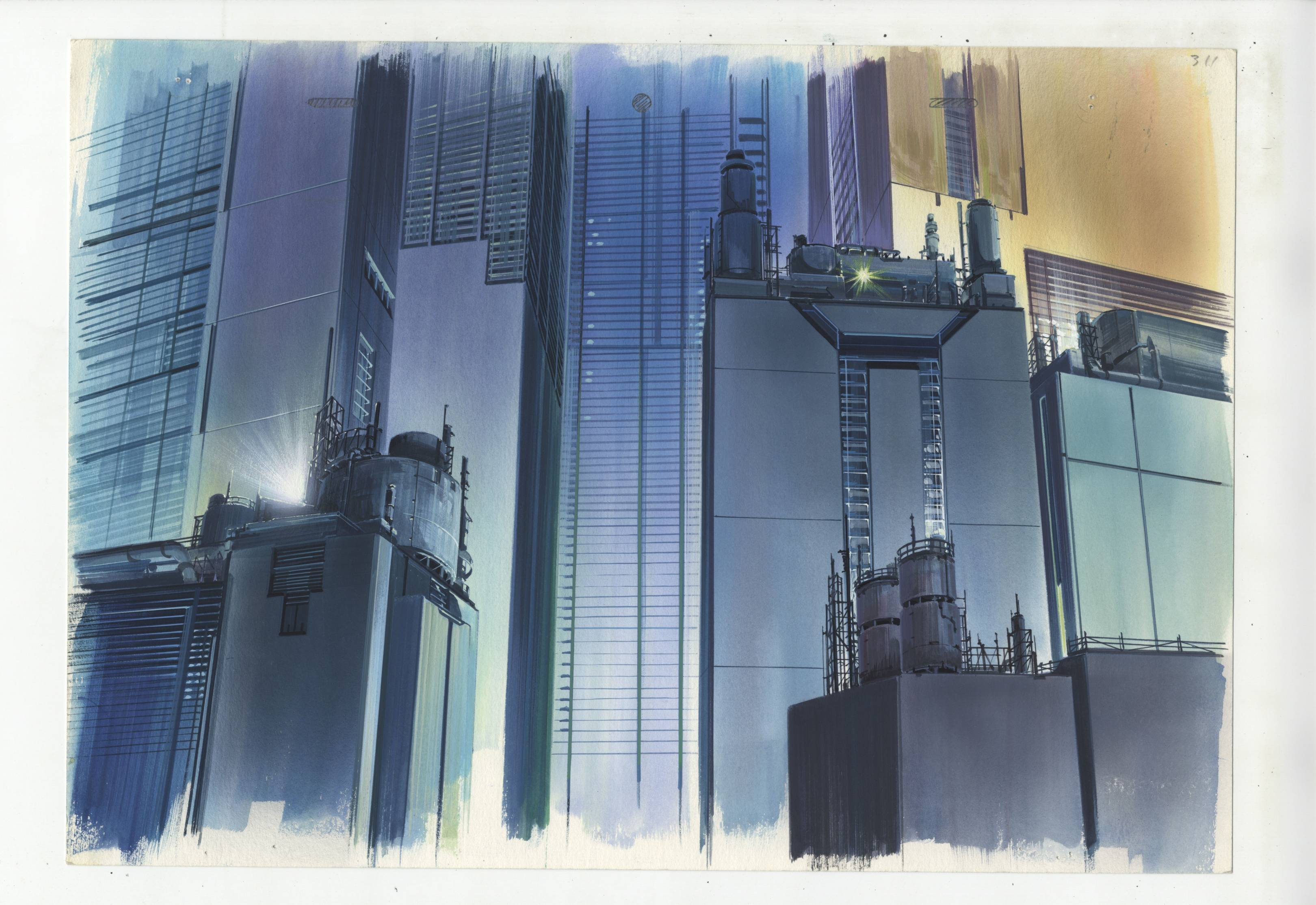 Ghost In The Shell Original Artwork On Display Wired Uk