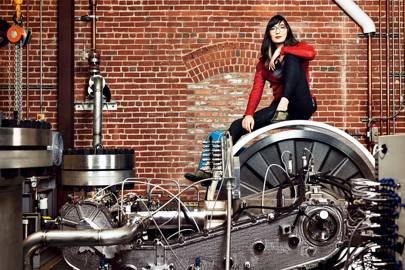 Danielle Fong wants to reinvent the power grid -- using air