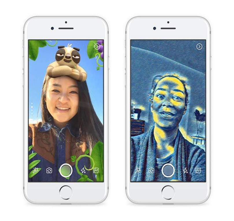 Facebook Camera Effects, Stories and Direct: how to use the