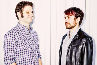 Dustin Moskovitz (left) and Justin Rosenstein
