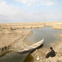 Draining of the Iraqi marshlands