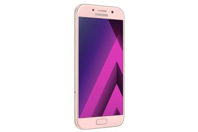 Samsungs Galaxy A Series Comes In Peach Pictured And Has An Impressive Camera Set Up
