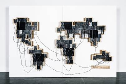 The Global Modular synth - connect the continents to remix the sound samples