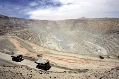 Chuquicamata copper mine