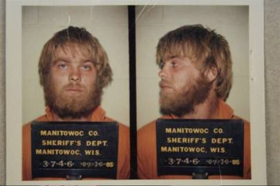 Steven Avery's mugshot in Making a Murderer
