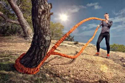 Heavy rope exercises offer cardio and strength workouts in one session - perfect for our product editor's DNA profile