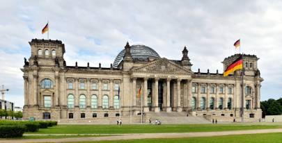 Berlin: Reichstag building